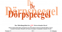 De Dörpspeegel Ausgabe 59 zum Nachlesen als PDF