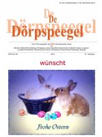 Dörpspeegel 60. Ausgabe April 2014