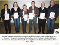 Kosels Kyffhäuser feiern neues Königshaus