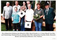 Erfolgreiche Schützen in Bohnert