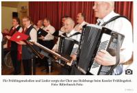 Tanz, Musik und Theater holen den Frühling nach Kosel