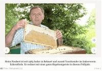 Honigernte: Bienen waren schon sehr fleißig