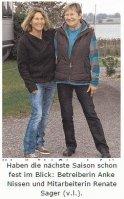 Mit Zelt und Rad quer durch Norddeutschland