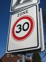 Tempo 30 jetzt in allen Anliegerstraßen