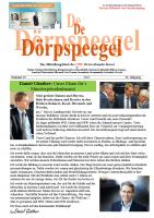 Dörpspeegel in der 62. Ausgabe ab sofort online für Sie zum Lesen