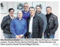 Koseler CDU setzt auf Natur und Tourismus