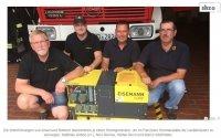 Generator: Mobiler Strom für die Gerätehäuser