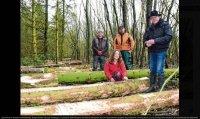 Platz schaffen für den Klimawald