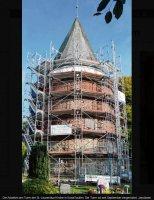 Neues Dach für den Kirchturm