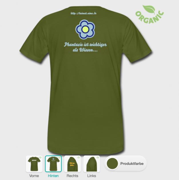 T-Shirt für Heimat
