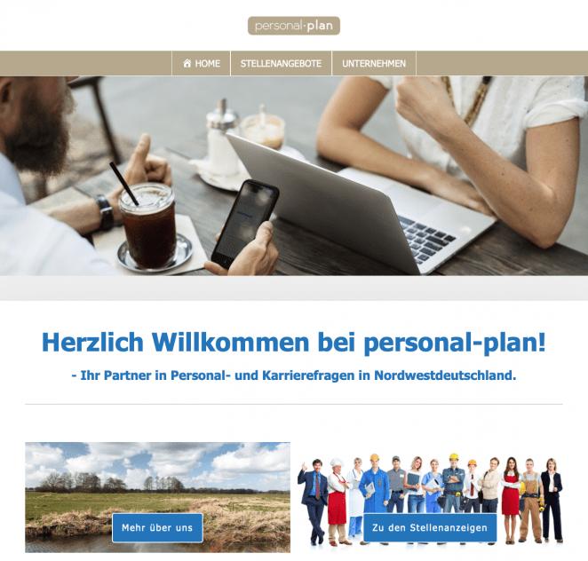 Redesign für personal-plan